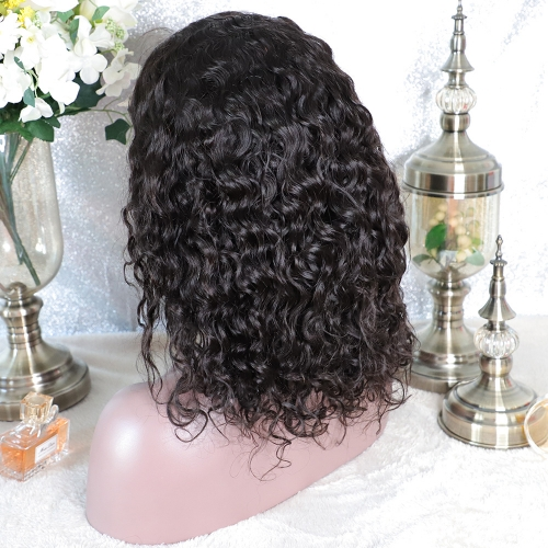 7x7 closure wig transparent lace loose wave Lace Frontal Wig loose wave closure Lace Front Human Hair Wigs Pre Plucked With Baby Hair closure Wig with