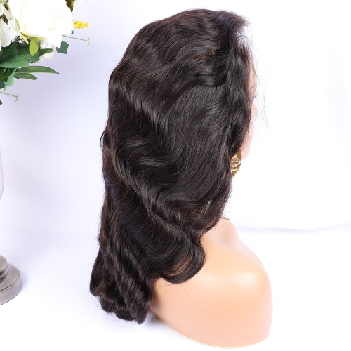 Osolovely Hair HD Lace 13x6 Lace Wig  Body Wave HD 13x6 Lace Front Human Hair Wigs Plucked Frontal Wig For Black Women